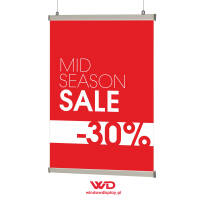 Plakat MID SEASON SALE -30%